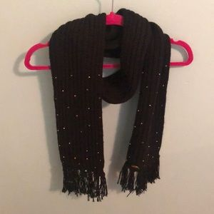 Billabong Cable Knit Beaded Scarf